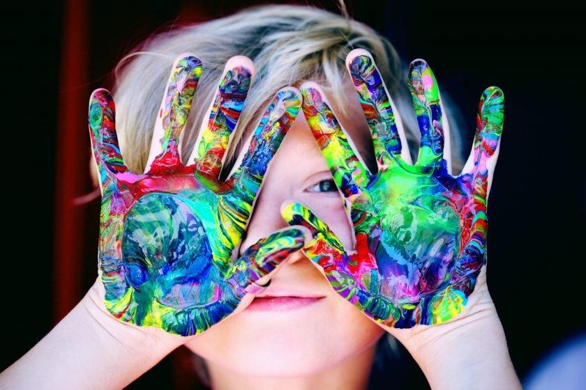 importance of art in child development